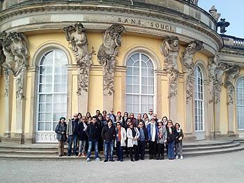 Grupo Abreu, Brasil, em Potsdam, 02/04/2018