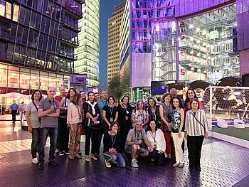 Grupo CapImp, Brasil, em Berlim, 15/07/2018