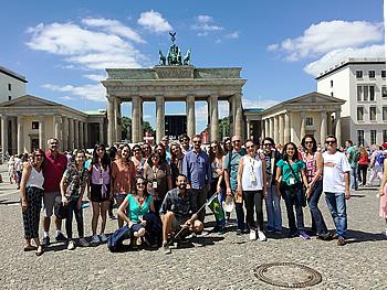 Grupo Reuro, Brasil, em Berlim, 19/07/2018