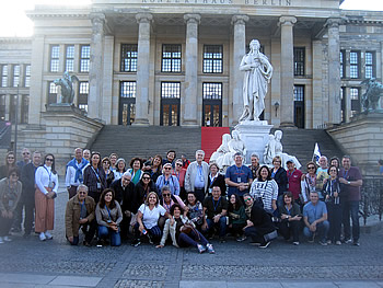 Grupo Capitais, Brasil, em Berlim, 16/09/2018