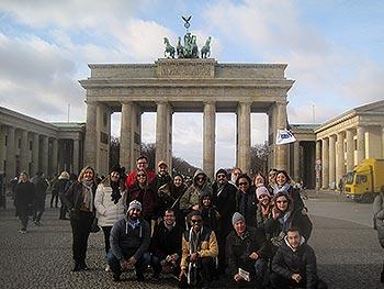 Grupo Jóias, Brasil, em Berlim, 31/01/2020