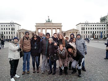 Grupo Abreu, Brasil, em Berlim, 29/02/2020