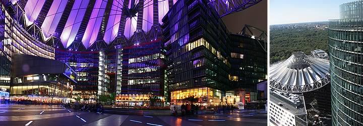 Potsdamer Platz (el barrio más moderno en el nuevo centro)
