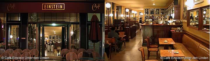 Café Einstein Unter den Linden