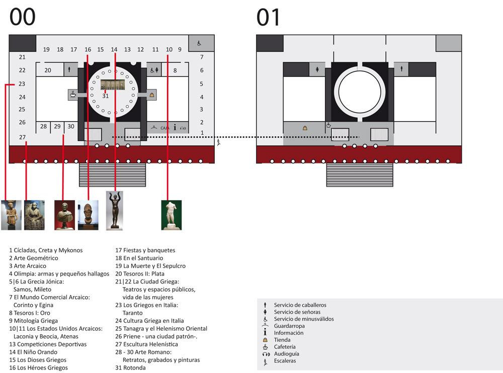 Mapa Museo de Antiguo