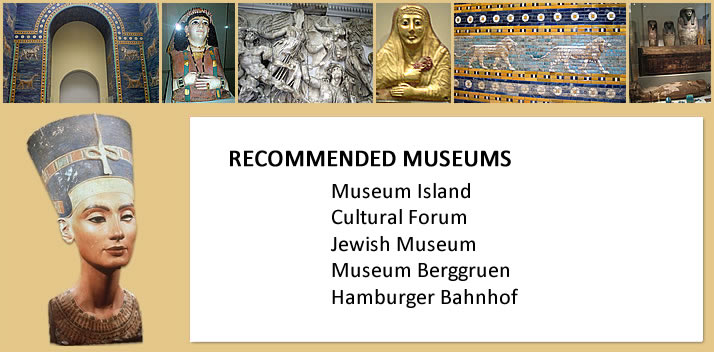 Recommended museums