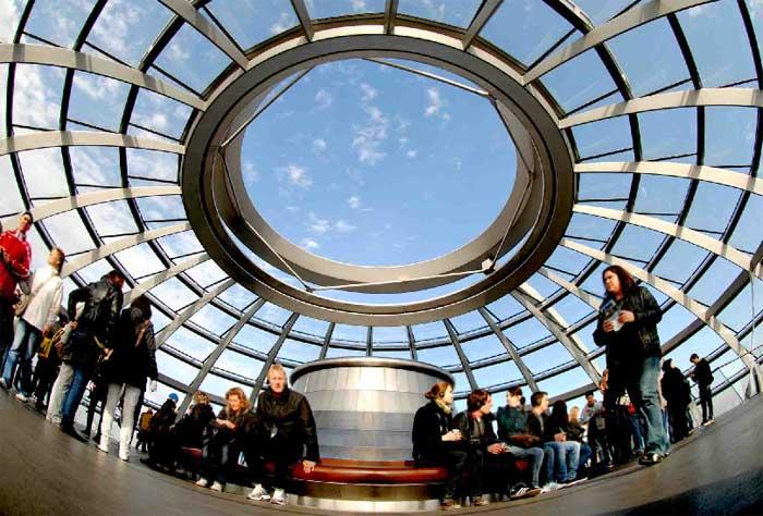 Reichstag cupula